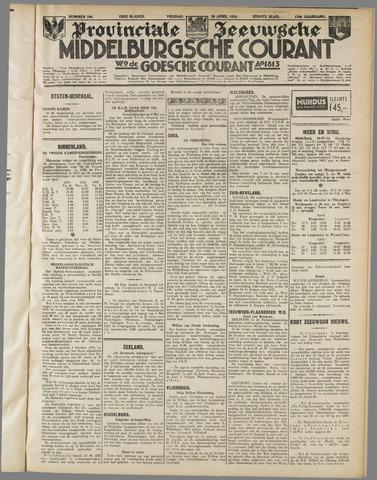 Middelburgsche Courant 1933-04-28