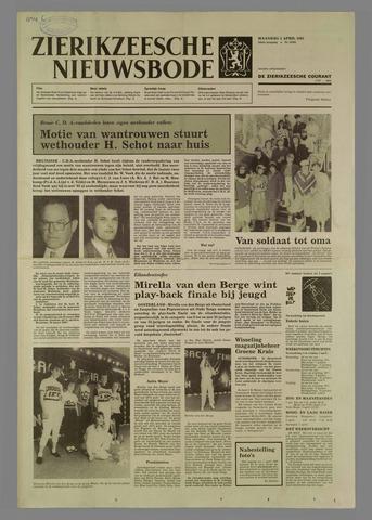 Zierikzeesche Nieuwsbode 1985-04-01