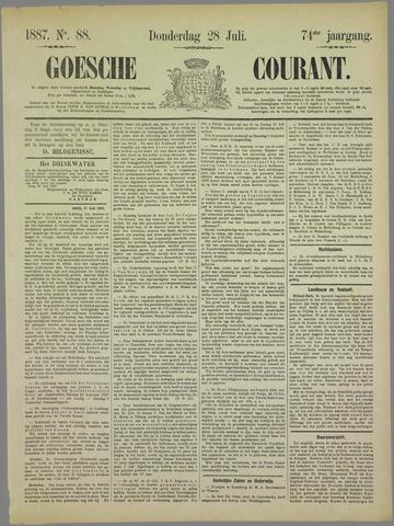Goessche Courant 1887-07-28