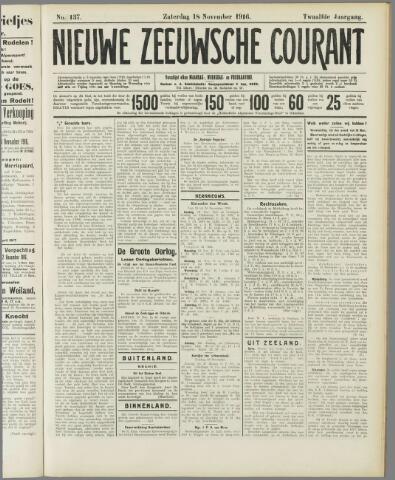 Nieuwe Zeeuwsche Courant 1916-11-18