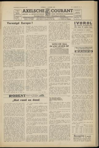 Axelsche Courant 1952-10-04
