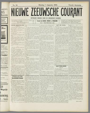 Nieuwe Zeeuwsche Courant 1906-08-07