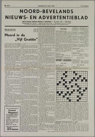 Noord-Bevelands Nieuws- en advertentieblad 1984-03-22