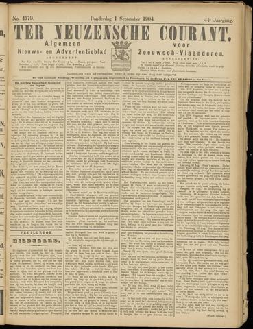 Ter Neuzensche Courant. Algemeen Nieuws- en Advertentieblad voor Zeeuwsch-Vlaanderen / Neuzensche Courant ... (idem) / (Algemeen) nieuws en advertentieblad voor Zeeuwsch-Vlaanderen 1904-09-01