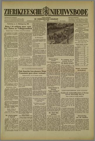 Zierikzeesche Nieuwsbode 1952-09-18