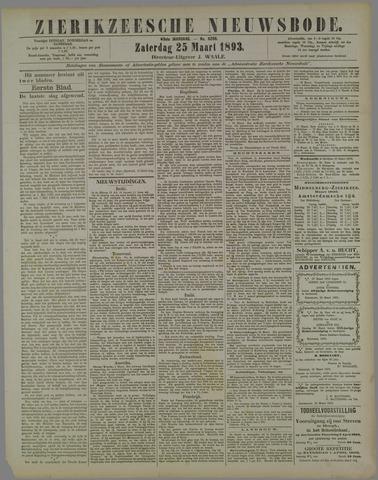 Zierikzeesche Nieuwsbode 1893-03-25