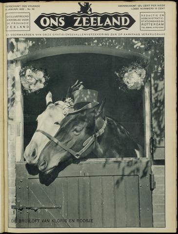 Ons Zeeland / Zeeuwsche editie 1932-01-08