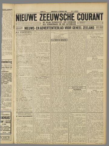 Nieuwe Zeeuwsche Courant 1933-02-16