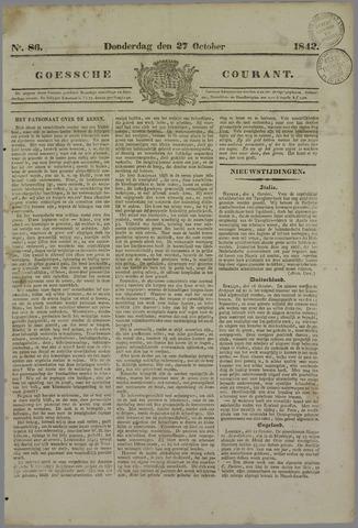 Goessche Courant 1842-10-27