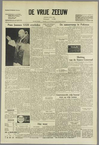 de Vrije Zeeuw 1963-06-04