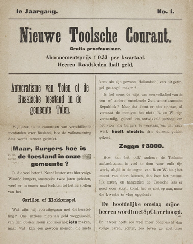 Thoolsche Courant 0002