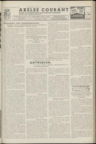 Axelsche Courant 1958-05-14