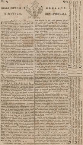 Middelburgsche Courant 1785-02-22
