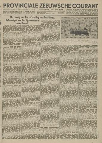 Provinciale Zeeuwse Courant 1943-04-22