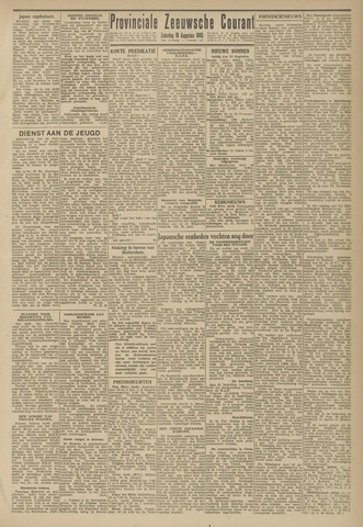 Provinciale Zeeuwse Courant 1945-08-18