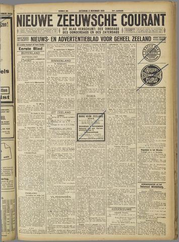 Nieuwe Zeeuwsche Courant 1923-11-03