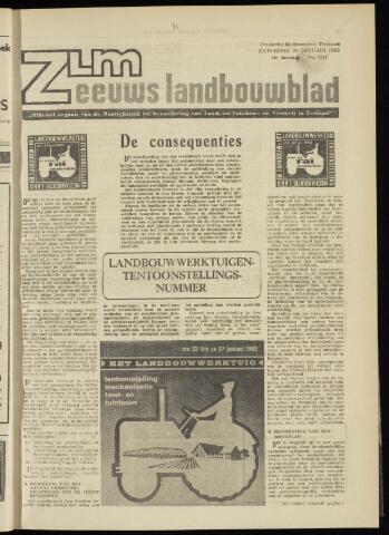 Zeeuwsch landbouwblad ... ZLM land- en tuinbouwblad 1962-01-19