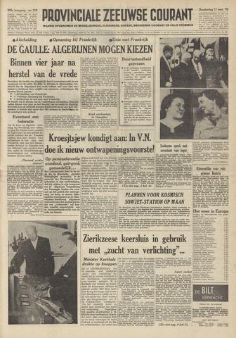 Provinciale Zeeuwse Courant 1959-09-17