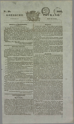 Goessche Courant 1837-06-16