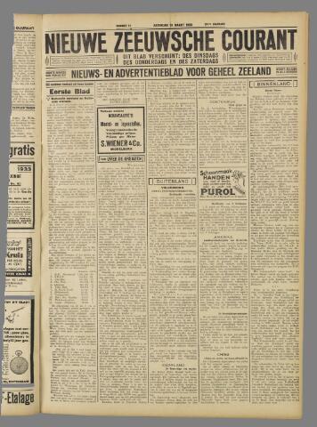 Nieuwe Zeeuwsche Courant 1933-03-18