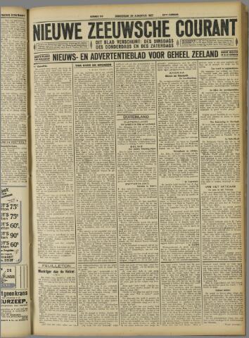 Nieuwe Zeeuwsche Courant 1927-08-25