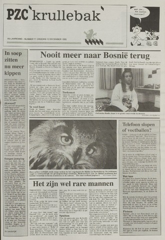 Provinciale Zeeuwse Courant katern Krullenbak (1981-1999) 1995-12-12