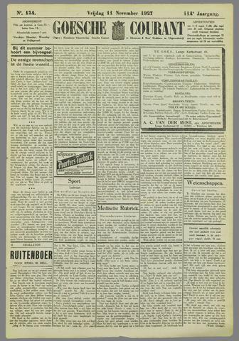 Goessche Courant 1927-11-11