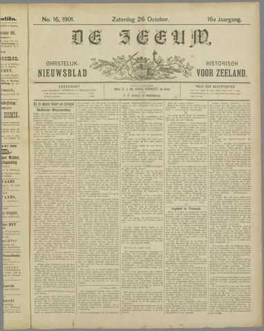 De Zeeuw. Christelijk-historisch nieuwsblad voor Zeeland 1901-10-26