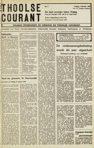 Ierseksche en Thoolsche Courant 1950-02-03