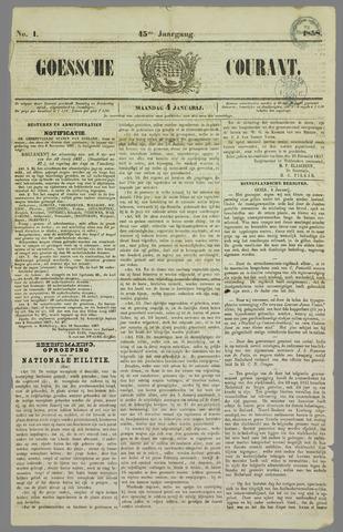 Goessche Courant 1858