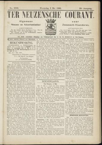 Ter Neuzensche Courant. Algemeen Nieuws- en Advertentieblad voor Zeeuwsch-Vlaanderen / Neuzensche Courant ... (idem) / (Algemeen) nieuws en advertentieblad voor Zeeuwsch-Vlaanderen 1880-05-05