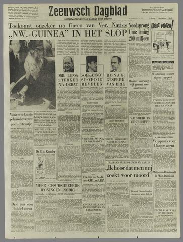 Zeeuwsch Dagblad 1961-12-01