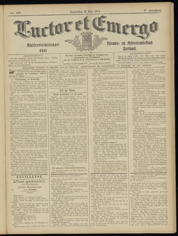 Luctor et Emergo. Antirevolutionair nieuws- en advertentieblad voor Zeeland / Zeeuwsch-Vlaanderen. Orgaan ter verspreiding van de christelijke beginselen in Zeeuwsch-Vlaanderen 1914-05-16