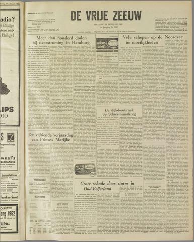 de Vrije Zeeuw 1962-02-19