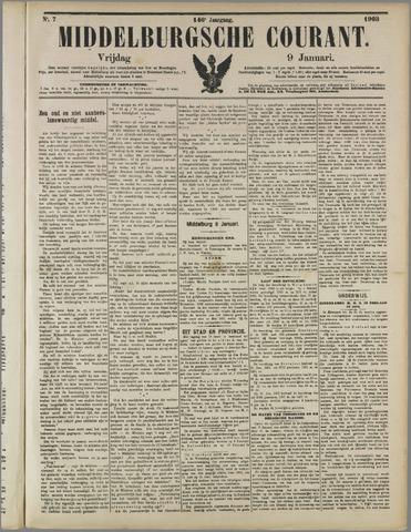 Middelburgsche Courant 1903-01-09