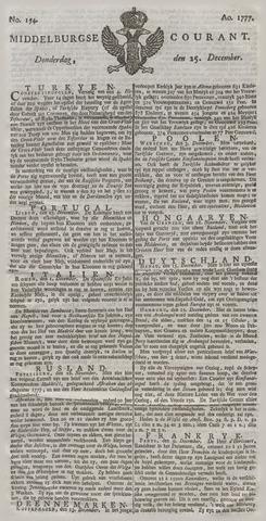 Middelburgsche Courant 1777-12-25