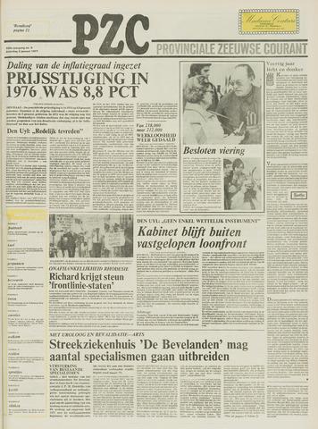 Provinciale Zeeuwse Courant 1977-01-08