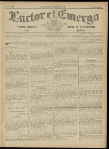 Luctor et Emergo. Antirevolutionair nieuws- en advertentieblad voor Zeeland / Zeeuwsch-Vlaanderen. Orgaan ter verspreiding van de christelijke beginselen in Zeeuwsch-Vlaanderen 1915-08-21