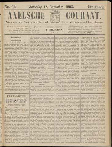 Axelsche Courant 1905-11-18