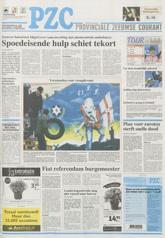 Provinciale Zeeuwse Courant 2001-07-11