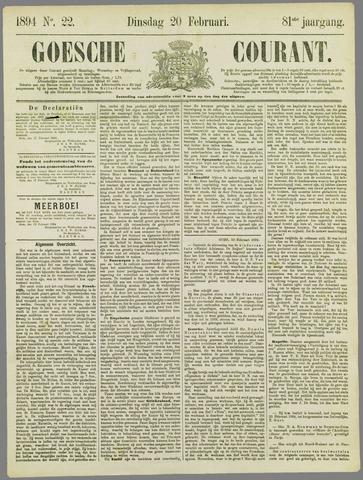Goessche Courant 1894-02-20