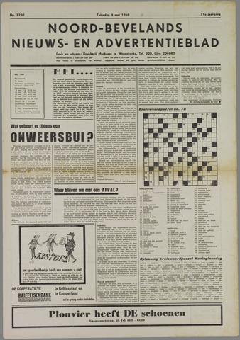 Noord-Bevelands Nieuws- en advertentieblad 1968-05-04