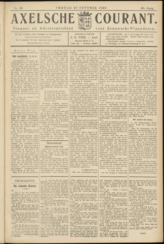 Axelsche Courant 1933-10-27