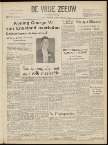 de Vrije Zeeuw 1952-02-07