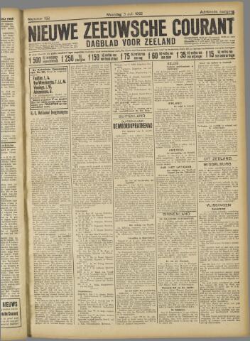 Nieuwe Zeeuwsche Courant 1922-07-03