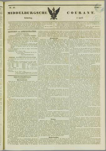 Middelburgsche Courant 1846-04-04