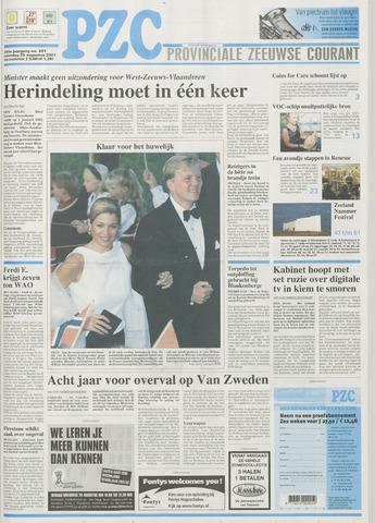 Provinciale Zeeuwse Courant 2001-08-25