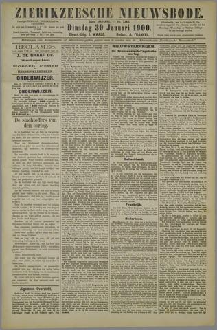 Zierikzeesche Nieuwsbode 1900-01-30