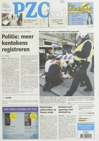 Provinciale Zeeuwse Courant 2009-08-13