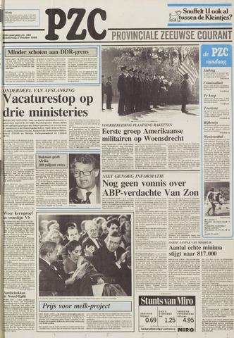 Provinciale Zeeuwse Courant 1986-10-02